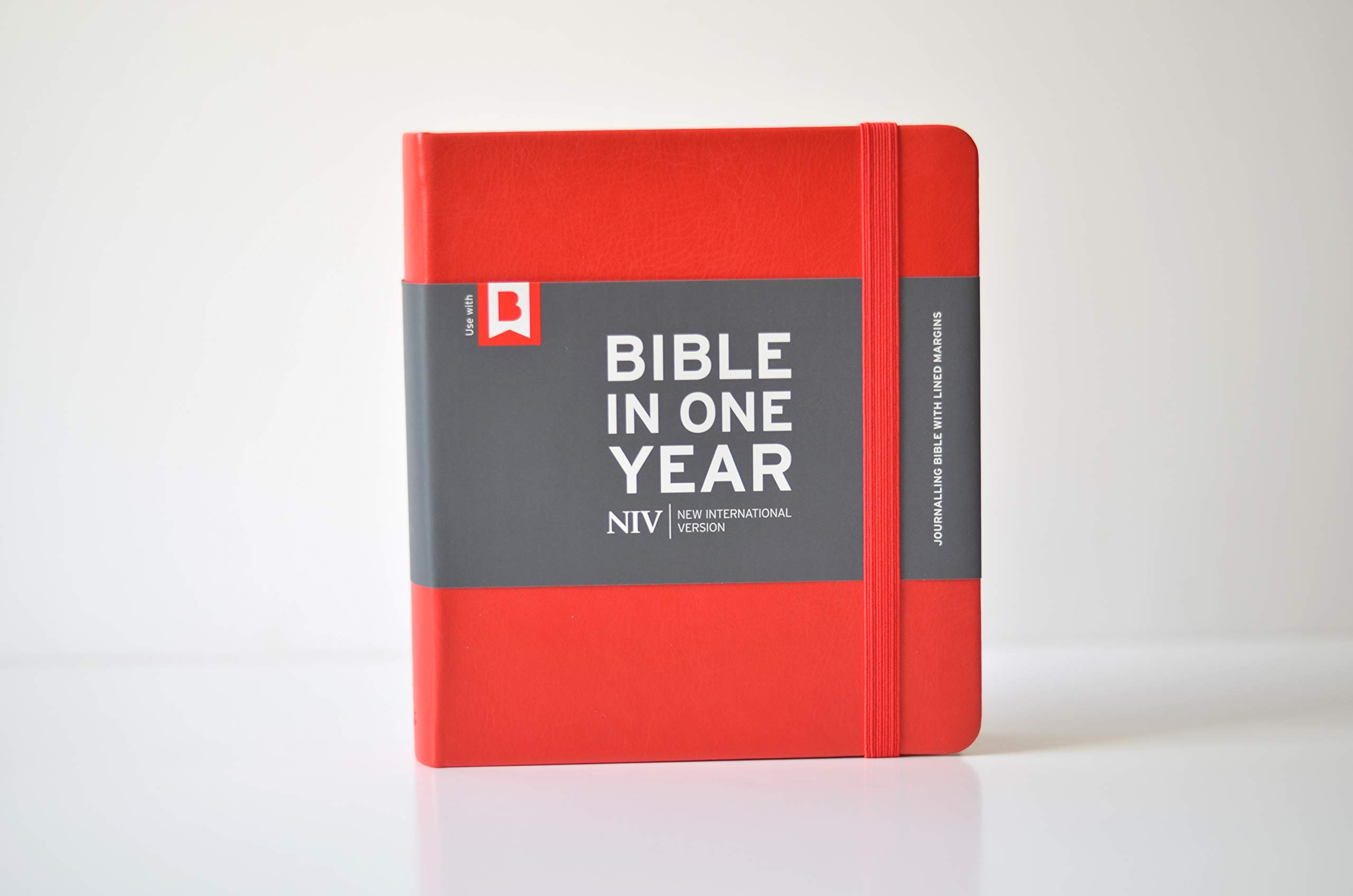 Bible in One Year - English Hardback
