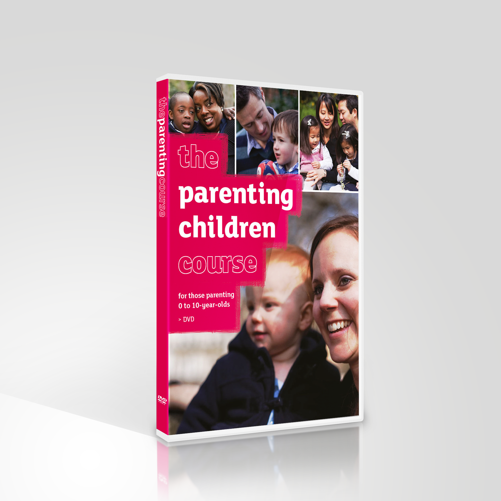 The Parenting Children Course DVD and Leaders Guide - English DVD