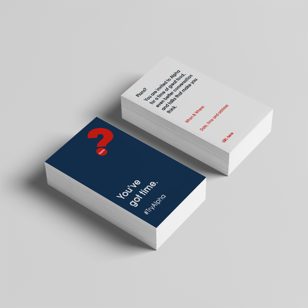 Alpha Invite Wallet Cards (2019) Navy - Wallet Card V4