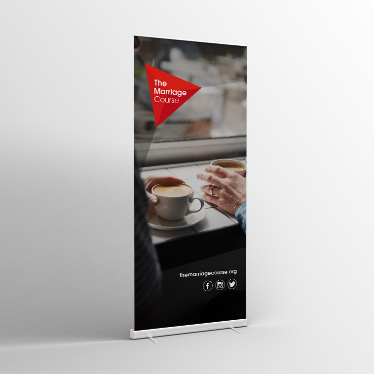 The Marriage Course Spring Pull-Up Banner V1 - Standard Pull-up Banner
