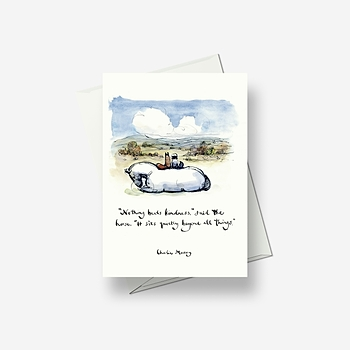 Nothing beats kindness - Greetings card