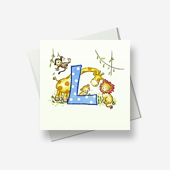 L for... - Greetings card