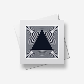 Triangle 1 - Greetings card