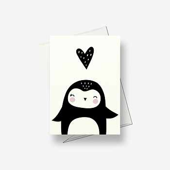 I'm in love - Greetings card