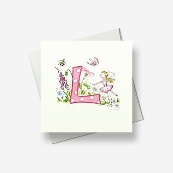 L stands for... - Greetings card
