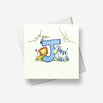 A J for... - Greetings card