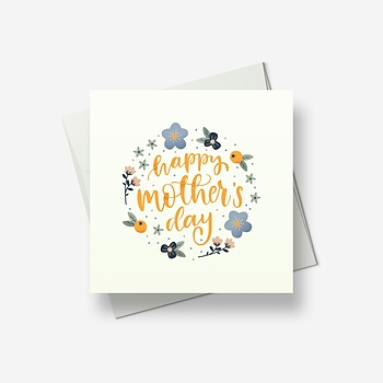 Flowers for your special day - Greetings card