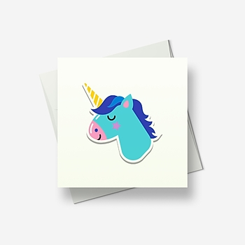 You're my unicorn - Greetings card