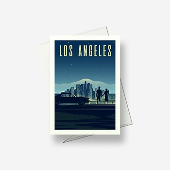Los Angeles - Greetings card