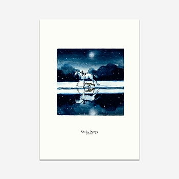 Moonlit journey - Print