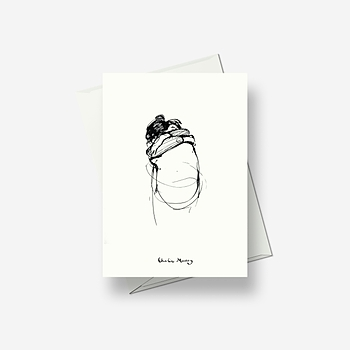 The Hug - Greetings card