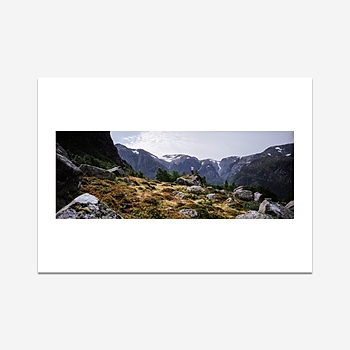 The exploration of Norway - Print
