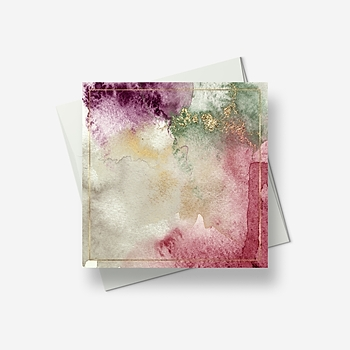 Pastel palette - Greetings card