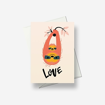 Mother love - Greetings card