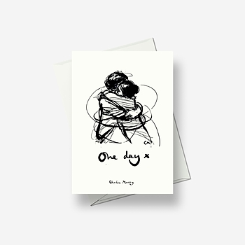 One Day January - Greetings card