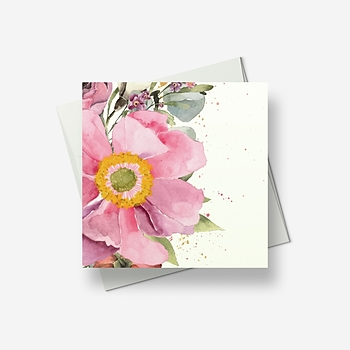 The brightest flower - Greetings card