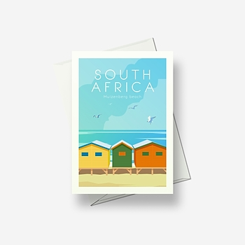 South Africa - Greetings card