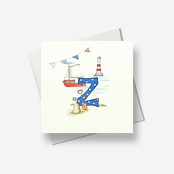 Z for... - Greetings card