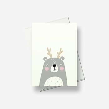 I'm a confused deer - Greetings card