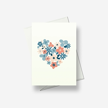 Words are not necessary - Greetings card