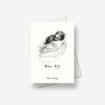 One Day May - Greetings card