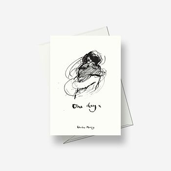 One Day March - Greetings card