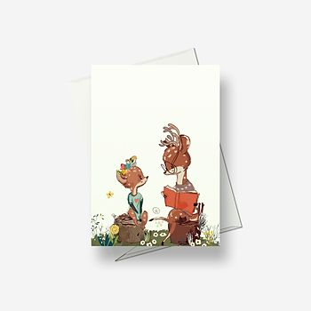 Read me a story - Greetings card