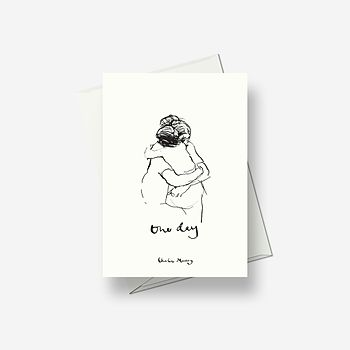 One Day April - Greetings card