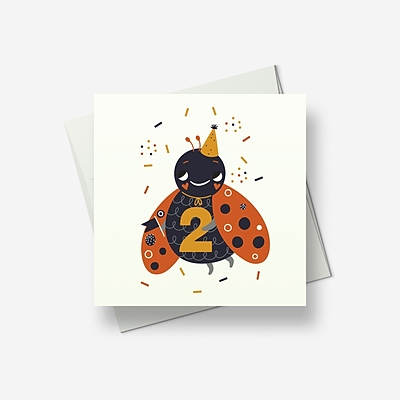 Two today - Greetings card