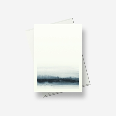 Still forests - Greetings card