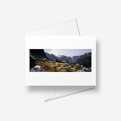 The exploration of Norway - Greetings card