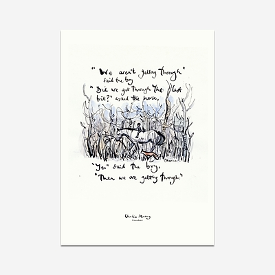 We are getting through - Print