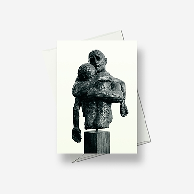 Prodigal bronze - Greetings card