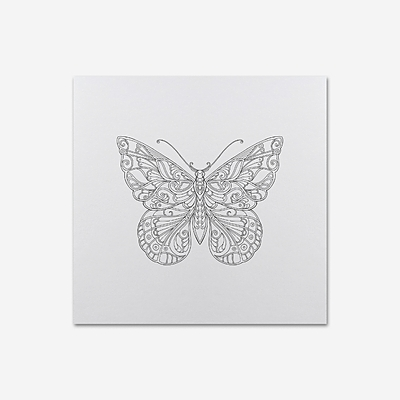 Magical Jungle & Ivy & the Inky Butterfly - Greetings card