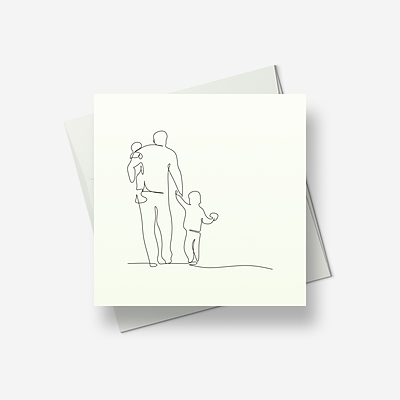 Dad will rock you - Greetings card