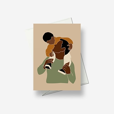 Are you sitting comfortably? - Greetings card