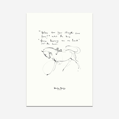 Knowing we are loved - Print