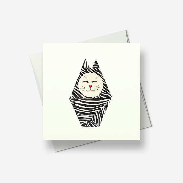 Cheshire Cat - Greetings card