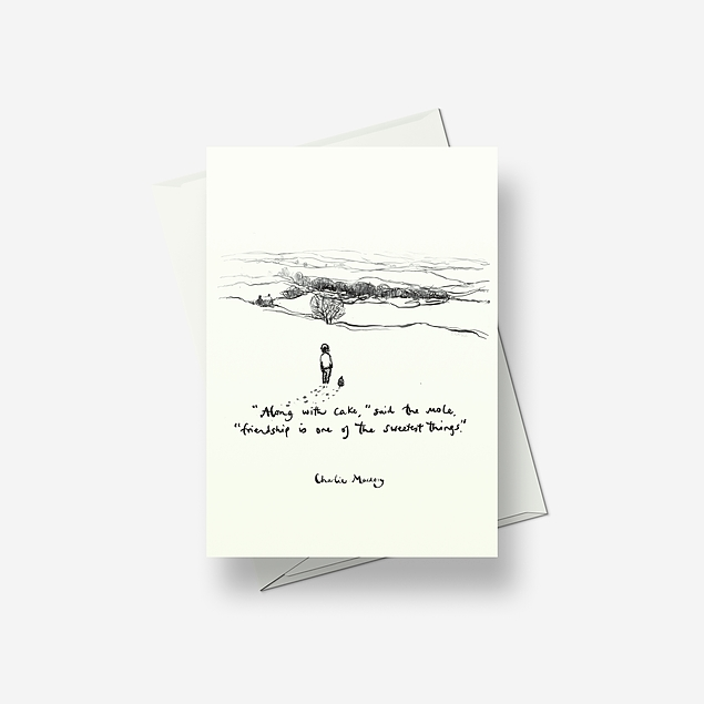 Friendship is one of the sweetest things - Greetings card