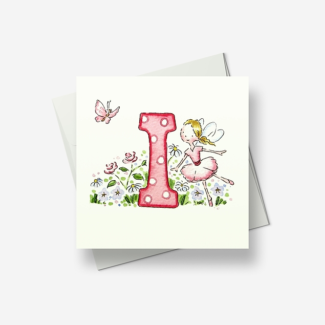 I... stands for - Greetings card