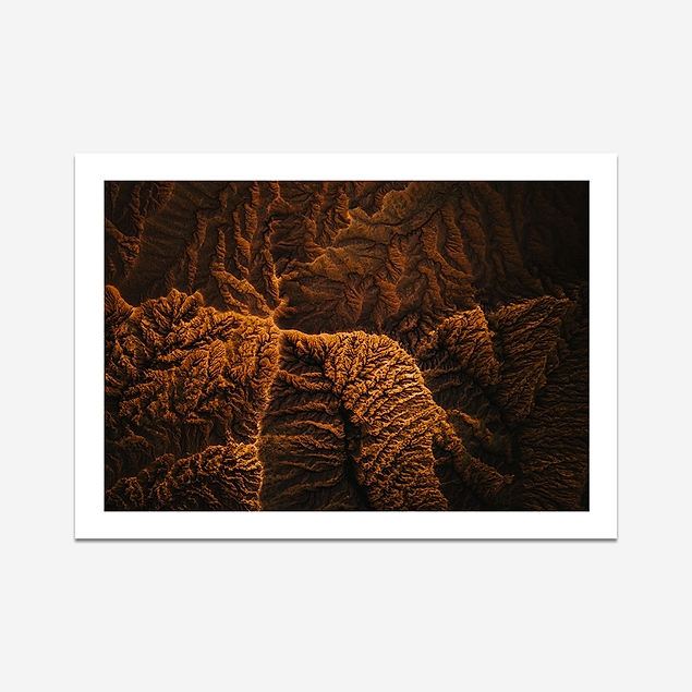 Canyons of Kyrgyzstan - Print (400x300mm)