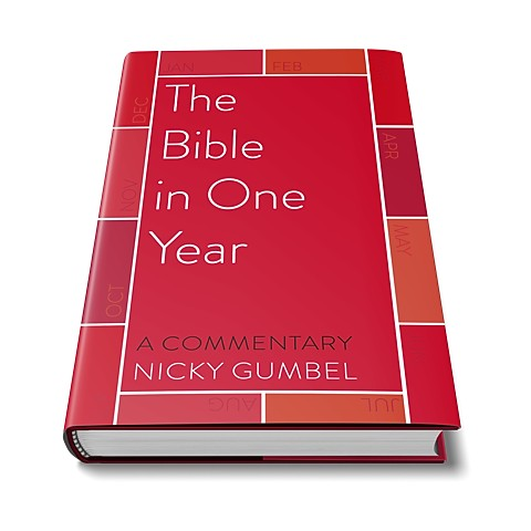 The Bible in One Year Commentary - English Hardback