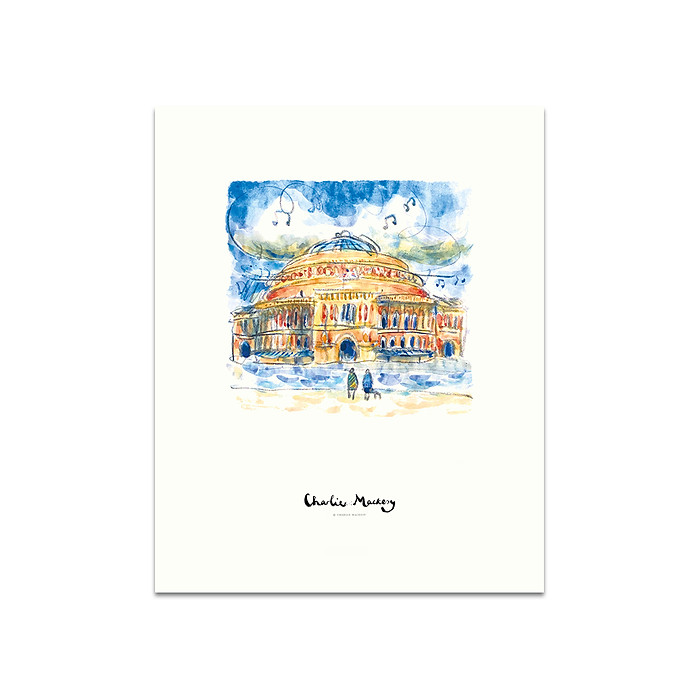 The Royal Albert Hall - Print